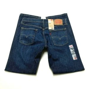 Levi's Mens 34×30 (34×32)  514 Slim Straight NEW